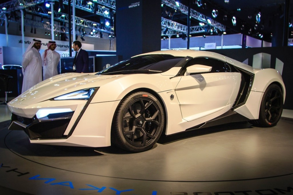 W Motors Lykan Hypersport photo most expensive cars in the world