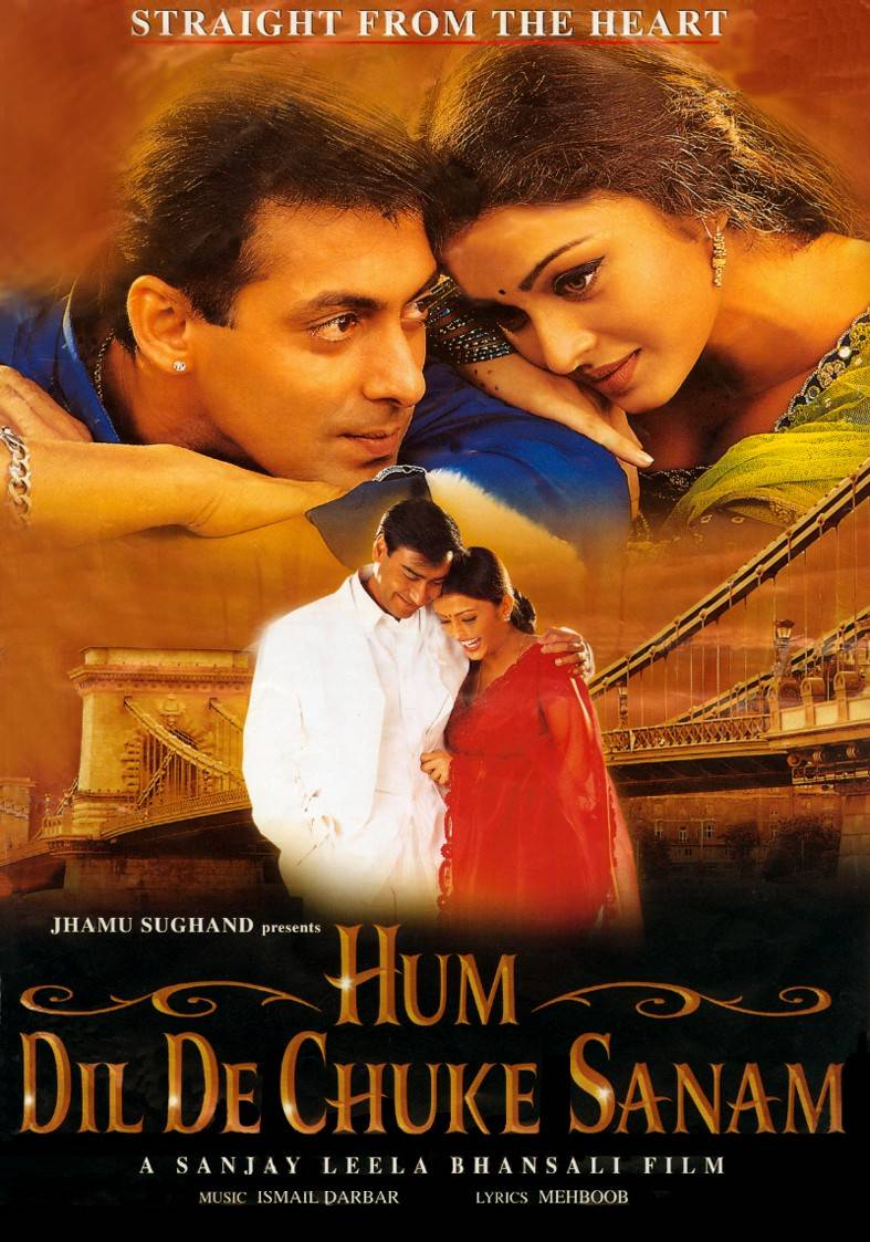 I Have Already Given My Heart, Darling / Hum Dil De Chuke Sanam best indian movies