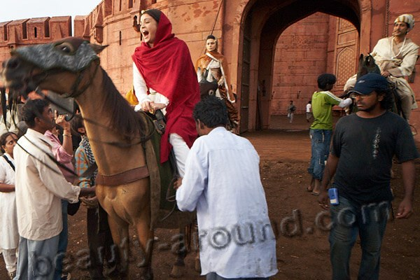 Aishwaria Rai  on horseback photo