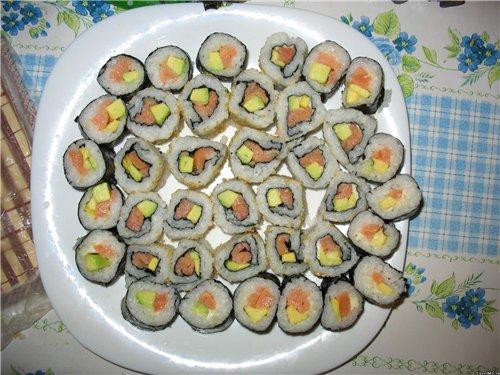 Суши и роллы 20 рецептов с фотографиями 95