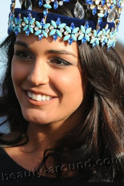 Kaiane Aldorino winner of Miss World 2009 photo