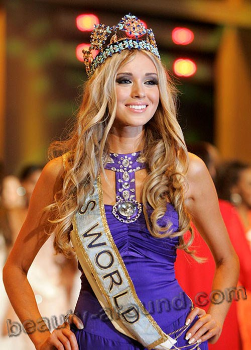 Kseniya Sukhinova winner of Miss World 2008 photo