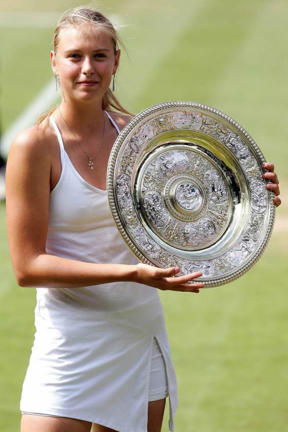 Мария Шарапова победительница Уиблдона фото