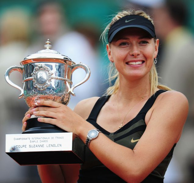 Мария Шарапова российская теннисистка
