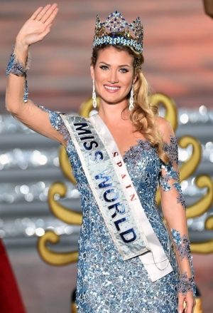 Miss World 2015 Winner Mireia Lalaguna